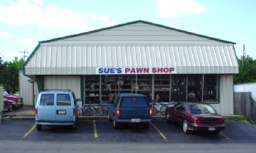 Sue's Pawn Shop, Benton AR